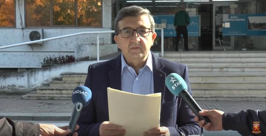 Здравков: Бочварски ќе остане запаметен по бројните ветувања кои не ги оствари пред штипјани
