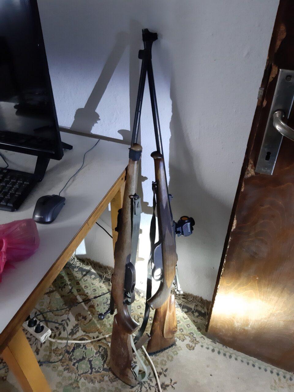 Запленето нелегално оружје и украдено возило во прилепско