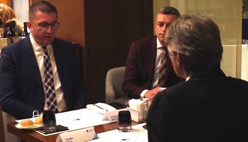 ФОТО: Остварена средбата меѓу Мицкоски, Села и Гаши