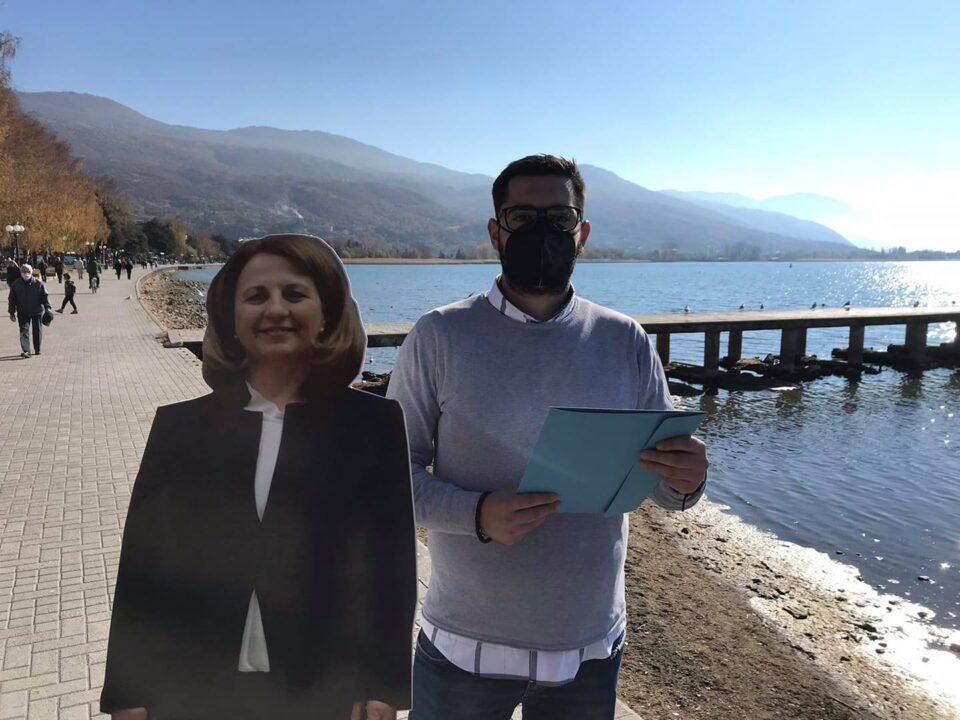 ВМРО-ДПМНЕ ОК Охрид: Охридското Езеро е пред еколошка катастрофа поради расипничкото однесување на власта на СДСМ