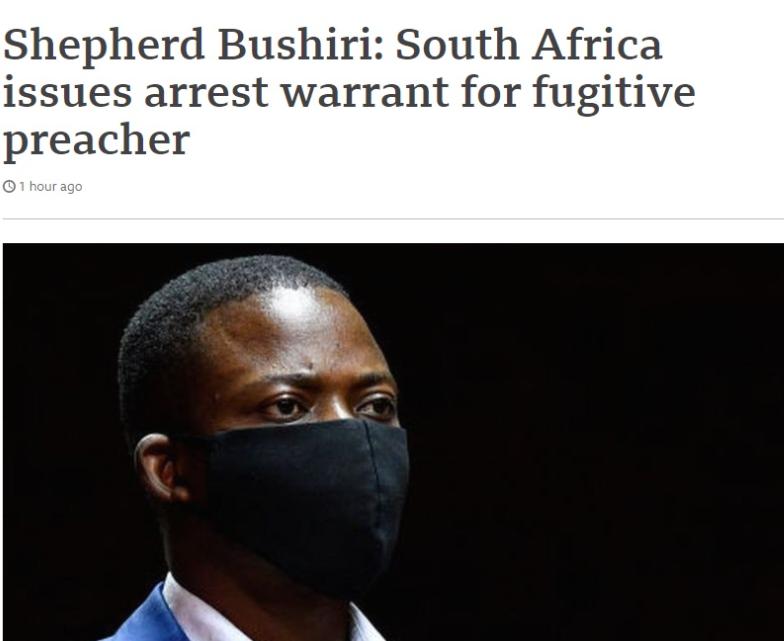 Јужна Африка распиша потерница по свештеник милионер