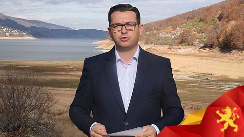 Трипуновски: Нивото на водата во Мавровското езеро е паднато за 22 метри, Зоран Заев направи пустош