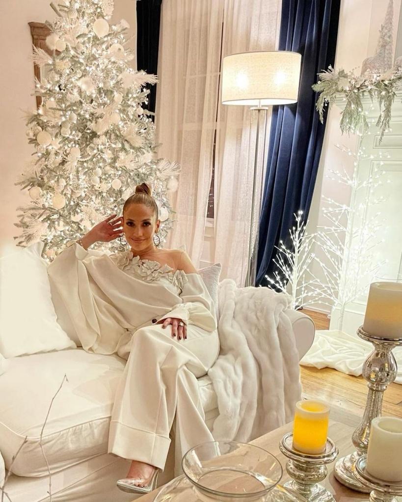 Погледнете како Џенифер Лопез го украси својот дом
