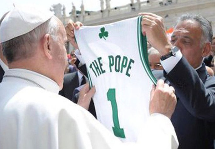 Делегација со играчи од НБА на средба со Папата во Ватикан, ќе разговараат за борбата за социјална правда