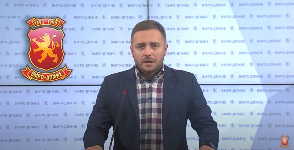 Арсовски: СДСМ сите отстапки ги направи и за ЕУ, а сега говорат за план Б, кој е планот Б? Има ли пилот во авионот?