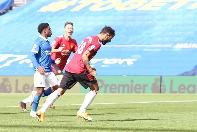 Манчестер јунајтед постигна гол од домашен натпревар во Премиер лигата по пауза од два месеца