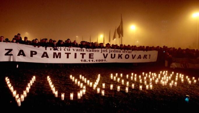 Денот на сеќавање на жртвите од Вуковар прват се одбележува како државен празник