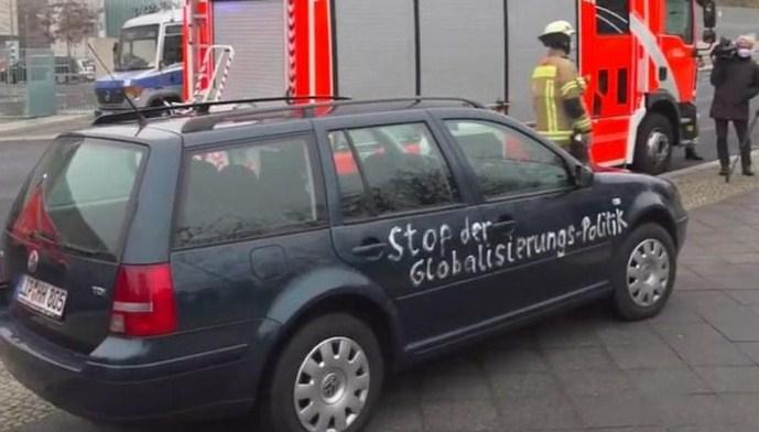 Еден повреден во инцидентот кај канцеларијата на Меркел во Берлин