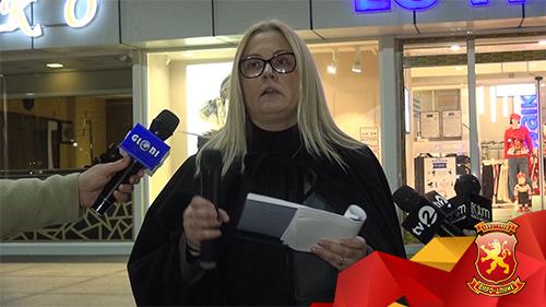 Стојаноска: Заев престани да се пазариш со хероите на слободата и  заминувај!