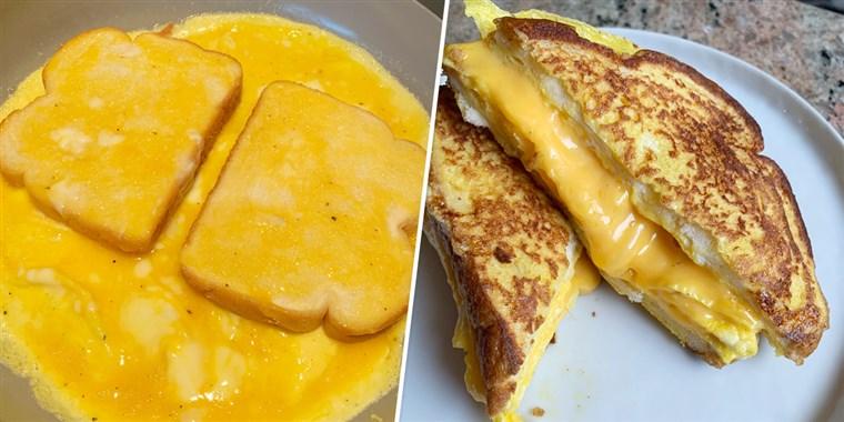Француски тост омлет за појадок