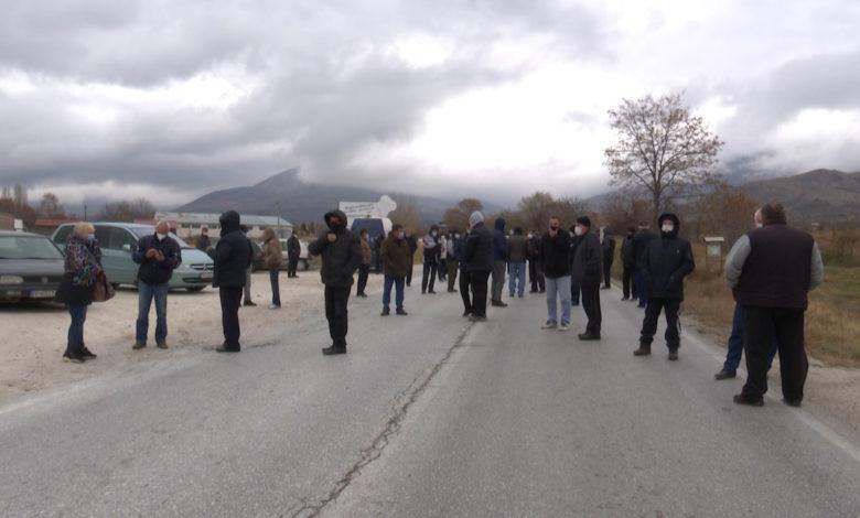 """Протест на работниците од """"Еурокомпозит"""": Во новиот буџет нема ставка за исплата на заостанатите придонеси"""