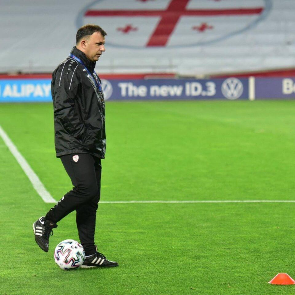 Aнгеловски: Не знам дали ќе ја водам Македонија на Европското првенство