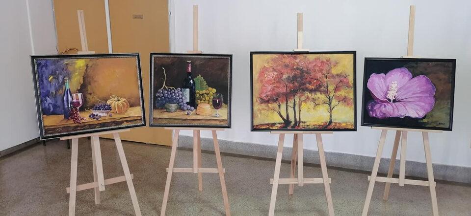 Отворена изложба на ликовниот уметник Дритан Боцку