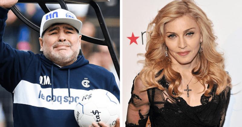 Наместо со Марадона, многумина се збогуваа со пејачката Мадона (ФОТО)