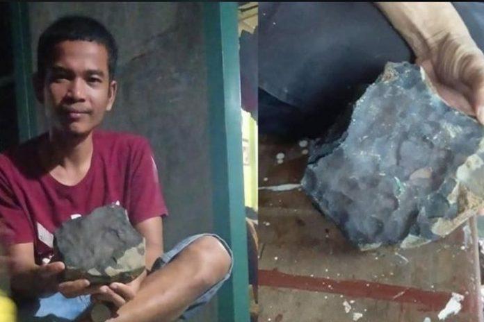 Му се посреќило: Метеорит му паднал во дворот, па го продал за вртоглава сума