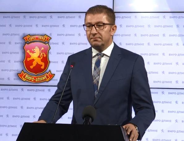 Мицкоски: Земаа од владата 33 милиони евра, а донираат само 1000 таблети, срамота! По преземање на власта ќе го ревидираме договорот