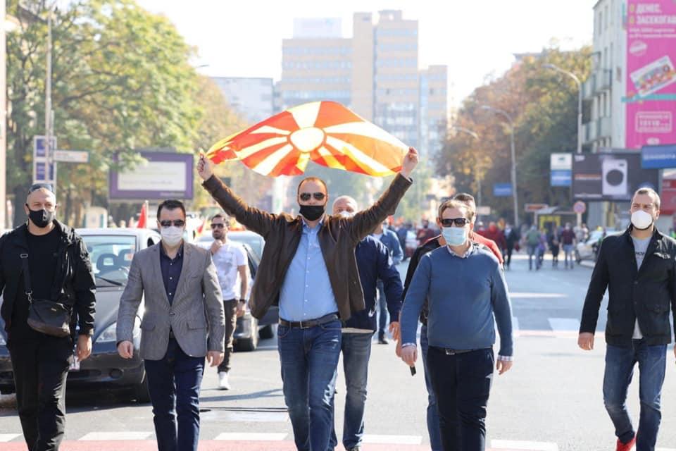 Мисајловски со повик за натпартиски протест: Овде не се работи за партии, овде се работи за Македонија, за Илинден и АСНОМ, за она што сме и она што сакаме да останеме