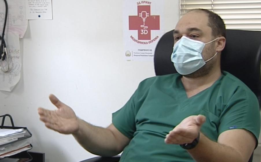 Лазаров: Повторно протестира медицински персонал во ГОБ 8ми Септември, поддршка колеги!