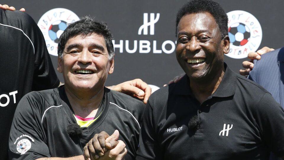 Пеле за Марадона: Еден ден заедно ќе шутираме топка на небото