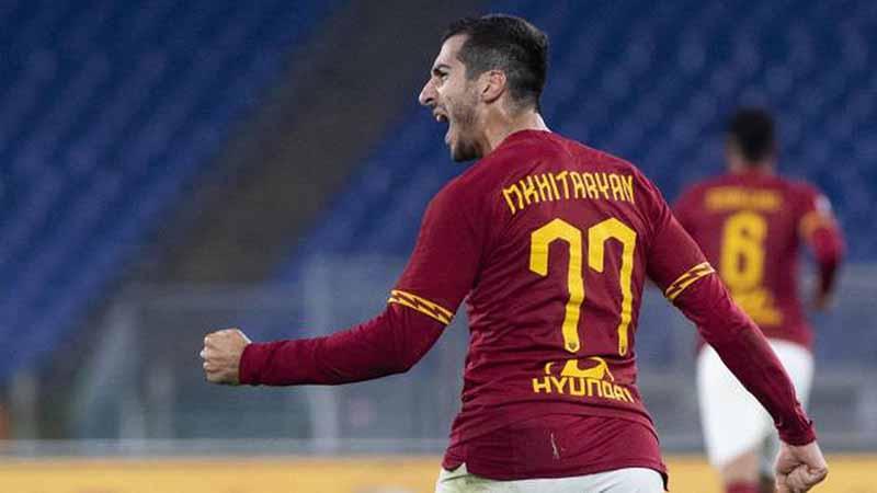 Рома има намера да го продолжи договорот со Мхитаријан