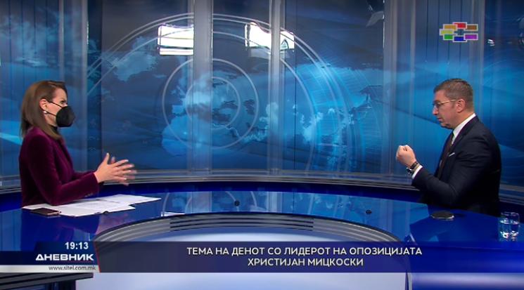 Мицкоски: Политиките на владата не донесоа или бездна или втора бездна, воведуваат кризна состојба, а организираат избори