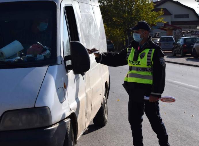 МВР: 278 санкционирани возачи во Скопје