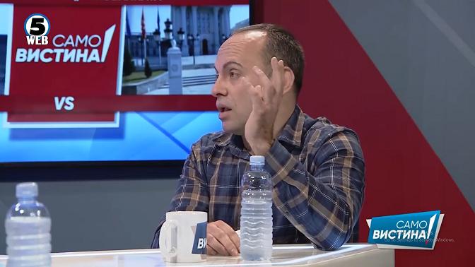 Тасевски: Ниту Шекеринска, ниту Заев ниту Пендаровски не гукнаа на тешки навреди од Каракачанов и бугарската власт