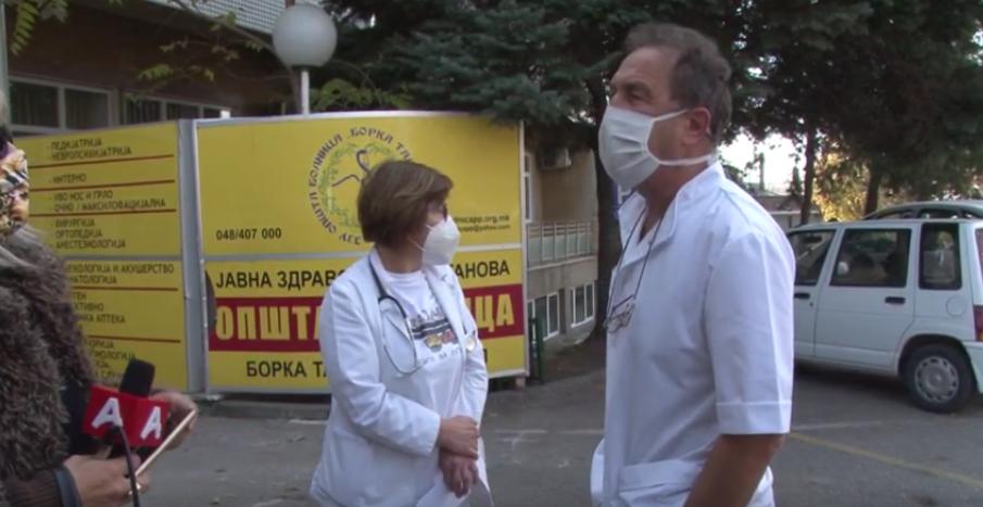 Директорот на прилепската Болница изгуби нерви заради прашањата на Алфа