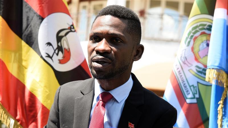 Во Уганда уапсен пејачот Вајн, кој е и претседателски кандидат