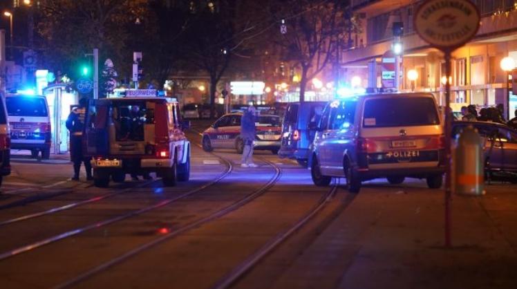 Германската полиција соопшти дека извршила рации во станови и канцеларии во врска со нападот во Виена
