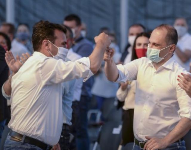 Филипче наместо да се грижи за ковид пациентите, тој го поддржува пробугарскиот став на Заев