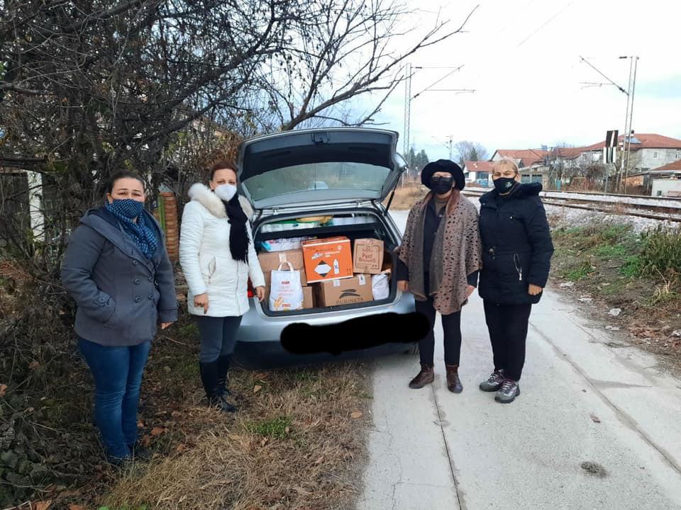Унијата на жени на ВМРО ДПМНЕ во хуманитарни акции – ја понудија својата помош онаму каде што е најпотребно