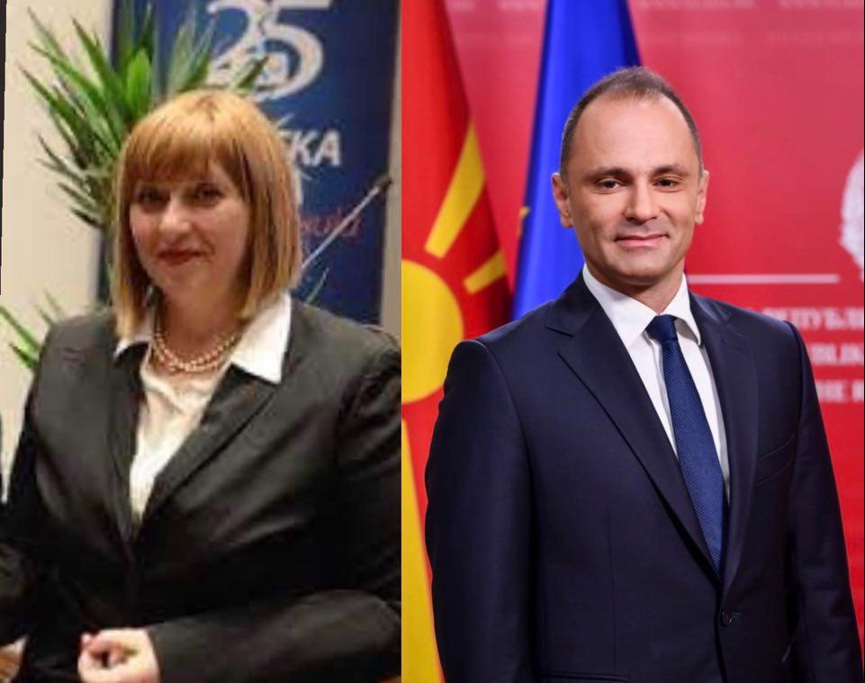 Стојаноска: До кога Филипче спротивно на закон ќе ја остава Старделова да извршува две функции за кои и Антикорупциска потврди дека има судир на интереси