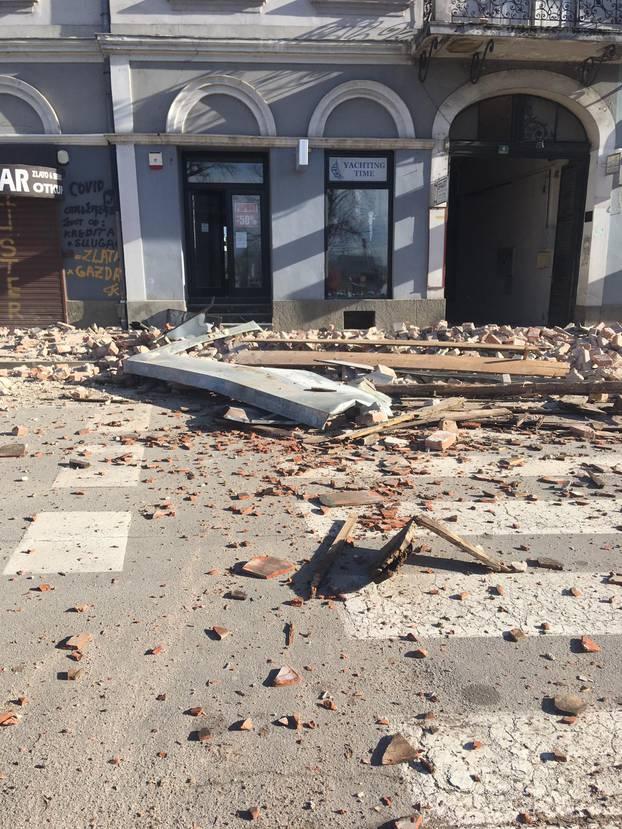 Најмалку 20 повредени во земјотресот во Петриња