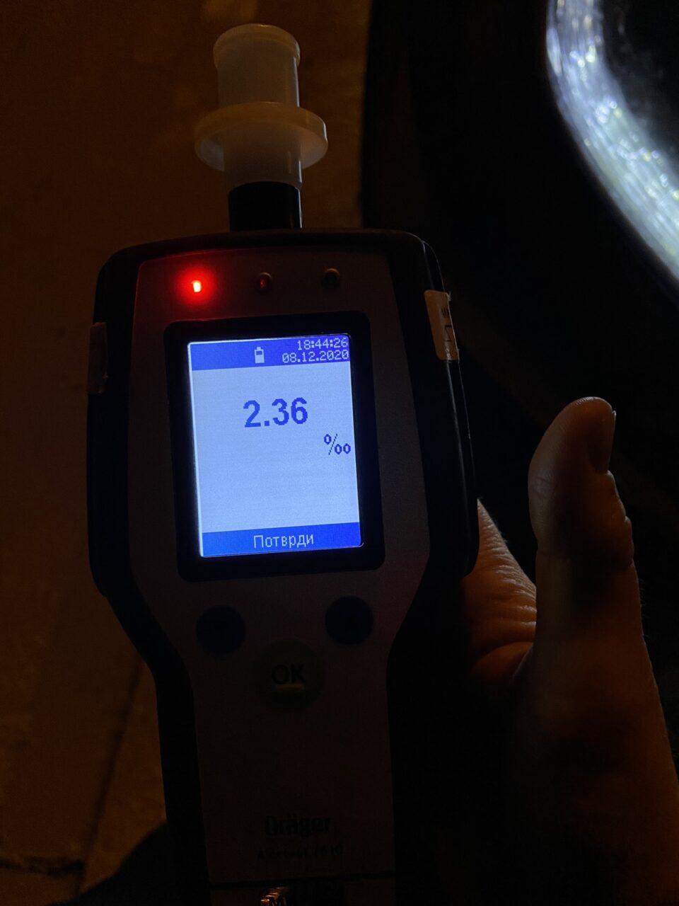 Скопјани се повеќе возат во алкохолизирана состојба- ова е вчерашниот рекорд