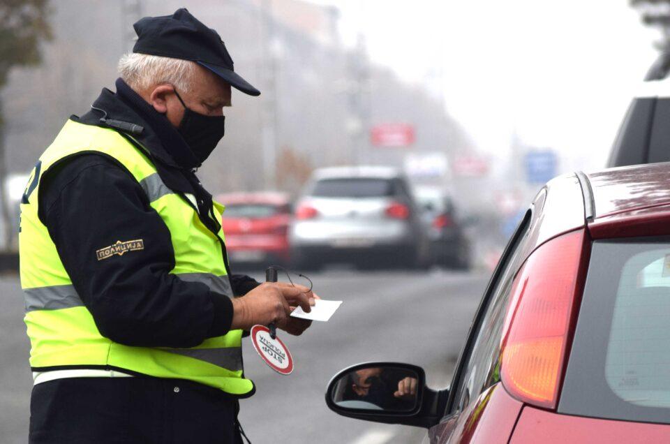 Засилени контроли во Тетово и Гостивар: 36 нерегистрирани возила, 34 возеле без возачка дозвола