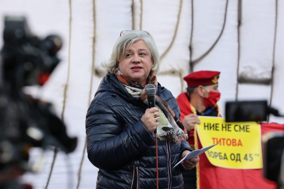 Котлар Трајкова: Претседателот на историската комисија е марионета на власта, на расправата во Парламентот имаше само похвално слово за власта и нејзиниот концепт