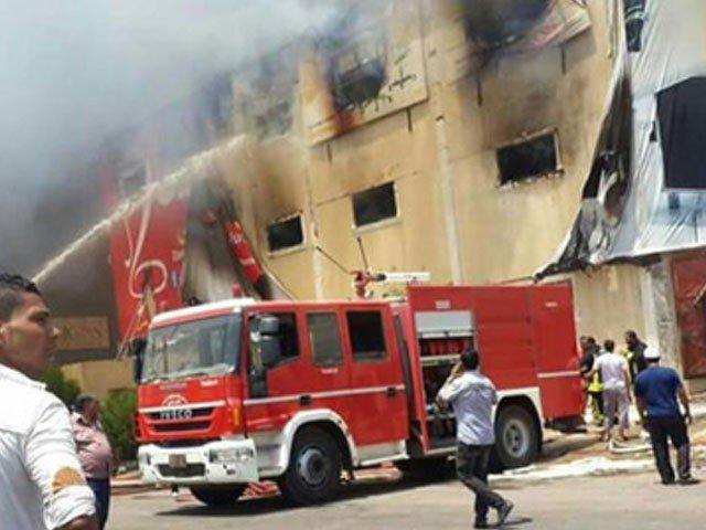 ЕГИПЕТ ЗАВИЕН ВО ЦРНО -пожар во Ковид болница одзеде најмалку 7 животи