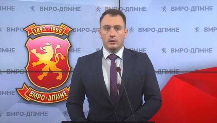 Андоновски: Неуспехот и ветото имаат име и презиме, Зоран Заев