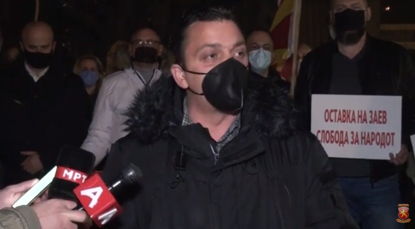 Карапетров од Тетово: Доста е со распродажба и понижување на Македонија, Заев оди си