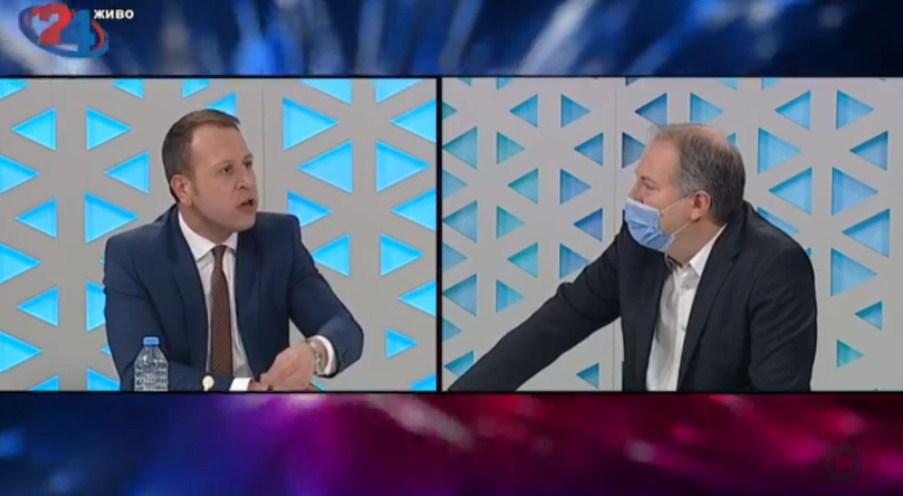 Јанушев: Господине Жерновски, СДСМ е единствената партија со двајца докажани криминалци – Зоран Заев и Владо Бучковски