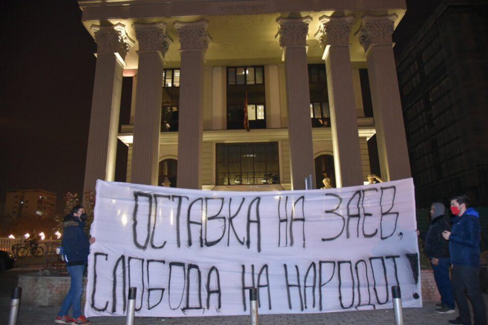 Андоновски:Бучковски, Заев и Османи преговараат за работи за кои не се преговара, оставка веднаш!