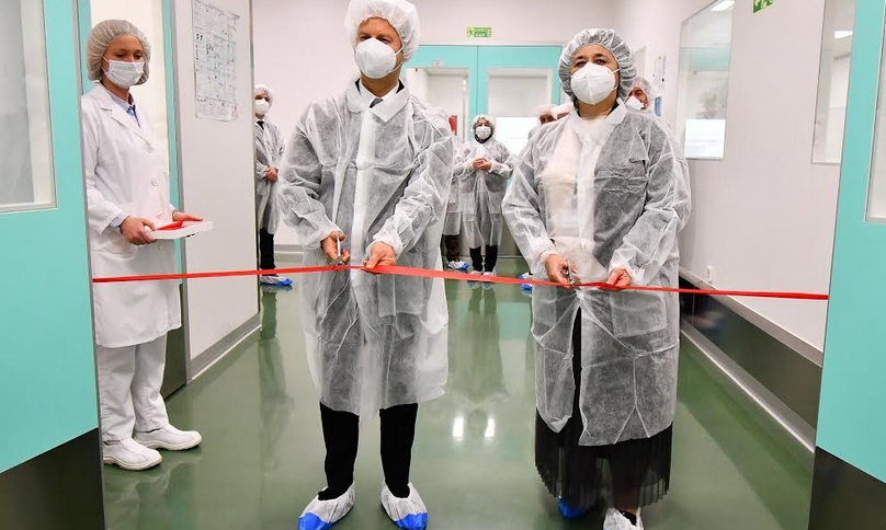 """""""АЛКАЛОИД"""" пушти во употреба нови производствени капацитети – инвестиција вредна 11 милиони евра"""