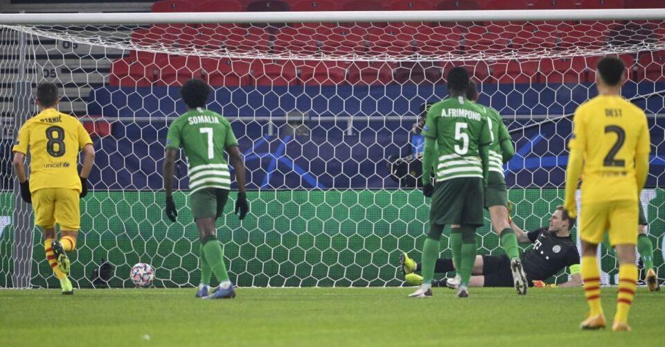 Барселона рекордер по досудени пенали во нејзина полза