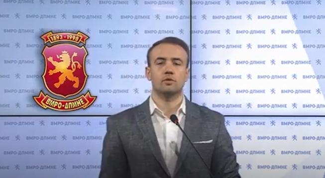 Стојаноски: Владата на СДСМ и ДУИ продолжуваат, спротивно на сите демократски и европски вредности да го деградираат законодавниот дом и пратениците во Република Македонија