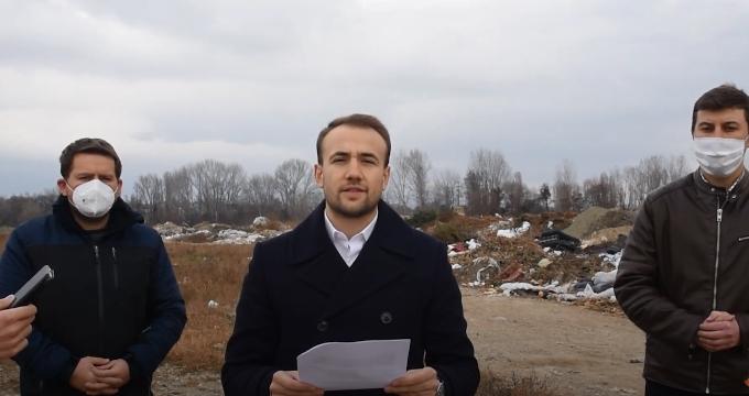 Стојаноски: Кај клиничкиот центар што го ветуваше СДСМ се наоѓа само ливада- уште една розева мега лага