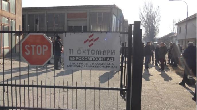 Власта ги заборави работниците од Еурокомпозит, три години оставени на улица