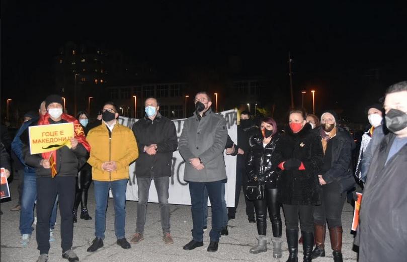 Мицкоски: Тоа што осудениот Бучковски кој го ослободи Врховен на Заев преговара со Бугарија е вовед во ново апокалиптично сценарио