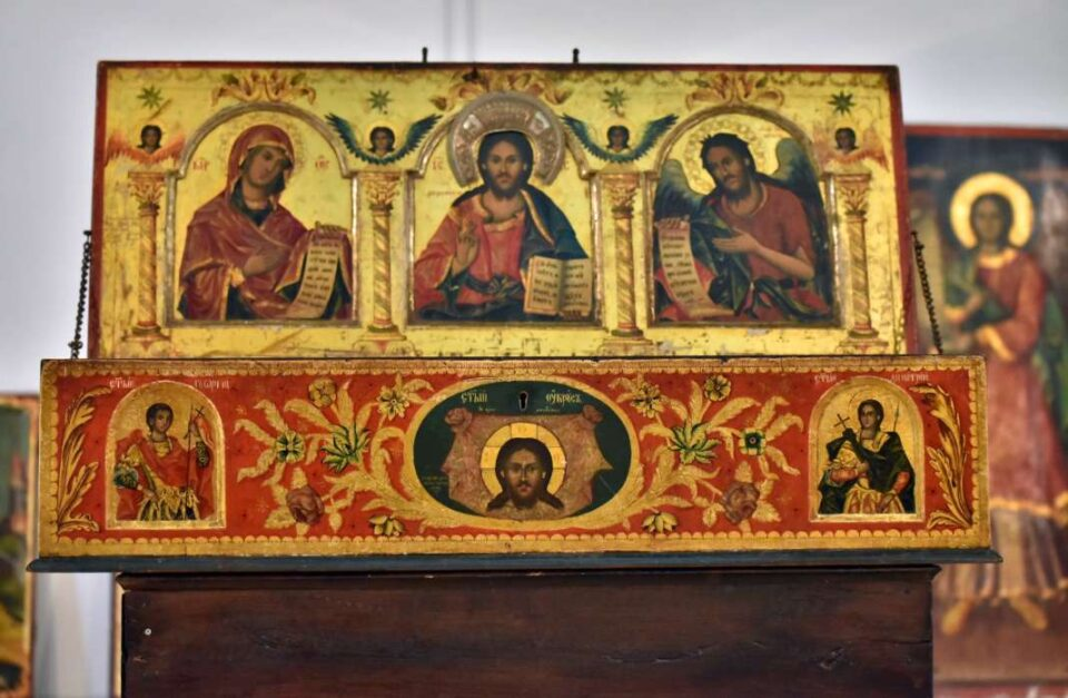 Изложба Фрескосликарството на Дичо Зограф во црквите од скопскиот регион