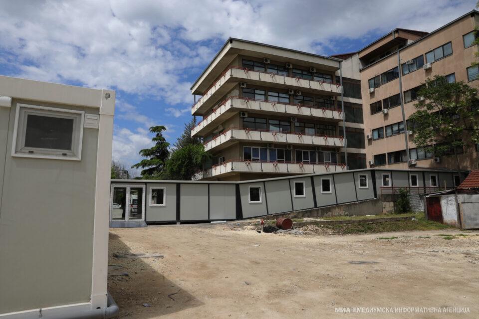 Во ковид центрите во Скопје за 24 часа се хоспитализирани 26 пациенти